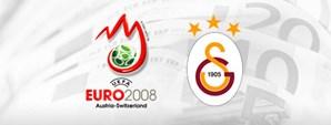 Galatasaray EURO 2008 Takım Katkı Payında Zirvede