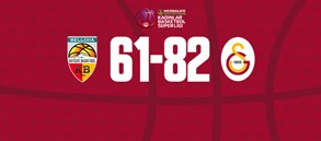 Bellona Kayseri Basketbol 61-82 Galatasaray