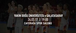Maça doğru | Yakın Doğu Üniversitesi – Galatasaray