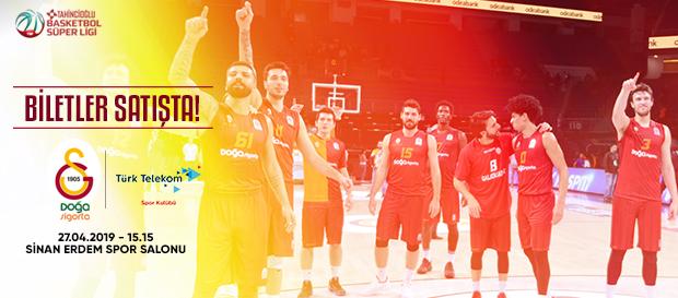 Türk Telekom maçı biletleri satışta