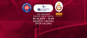 Maça doğru   Halkbank - Galatasaray HDI Sigorta