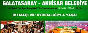 Akhisar Belediye Karşılaşmasının Ağırlama Paketleri Satışta
