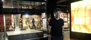 Iosif Rotariu, Galatasaray Stadyum Müzesi'ni ziyaret etti