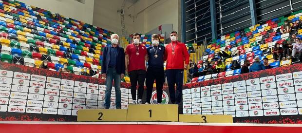 Türkiye Salon Şampiyonası'nda başarılı dereceler