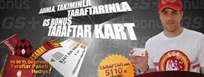 GS Bonus Taraftar Kart'a Başvur, GS Store Taraftar Paketini Kap!