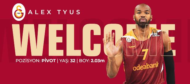 Alex Tyus Galatasaray'da