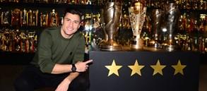 Lorik Cana, Galatasaray Stadyum Müzesi'ni gezdi