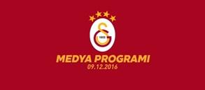 Gaziantepspor maçı medya programı
