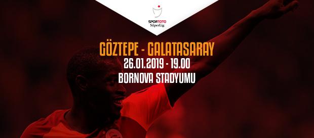 Maça doğru | Göztepe - Galatasaray