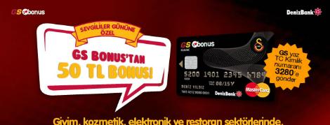 GS Bonus'tan Sevgililer Günü Kampanyası