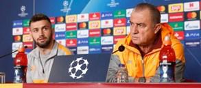 Club Brugge maçı öncesi basın toplantısı düzenlendi