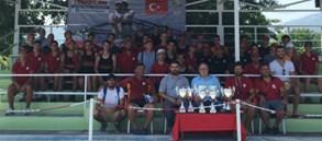 Gençler Türkiye Şampiyonası 1. Etap Kürek Yarışları'na Galatasaray Damgası