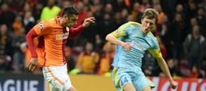 Şampiyonlar Ligi   Galatasaray 1-1 Astana