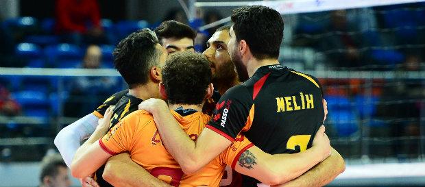 Galatasaray HDI Sigorta 3-1 Jeopark Kula Belediye