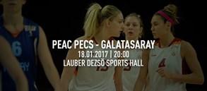 Maça doğru | PEAC Pecs – Galatasaray