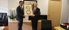 Cemil Boz'dan başkanımız Mustafa Cengiz'e ziyaret