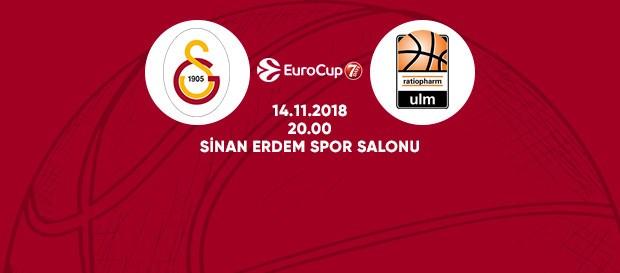 Maça doğru | Galatasaray – ratiopharm Ulm