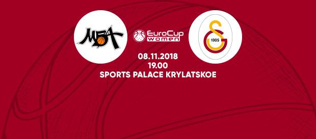 Maça doğru | MBA Moskova – Galatasaray
