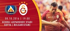 Dostluk Maçı: PFC Levski Sofya – Galatasaray