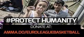 Euroleague'den #ProtectHumanity Kampanyası