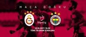 Maça doğru | Galatasaray-Fenerbahçe