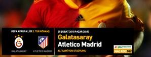 Maça Doğru: Galatasaray - Atletico Madrid