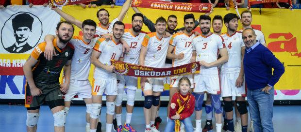 Galatasaray 3-0 İkbal Afyon Belediye Yüntaş
