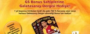 GS Bonus'tan Galatasaray Dergisi Aboneliği Hediye!