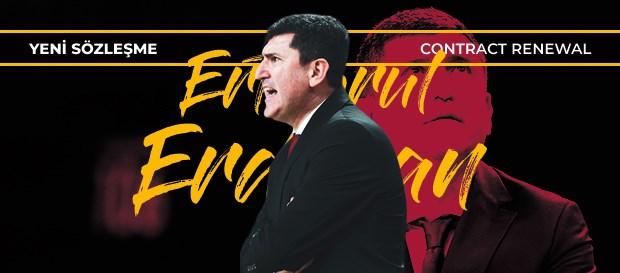 Ertuğrul Erdoğan ile yeni sözleşme imzalandı