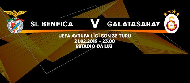 Maça doğru   SL Benfica – Galatasaray