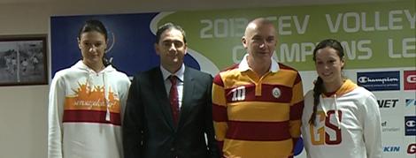 2013 CEV Champions League Basın Toplantısı Yapıldı