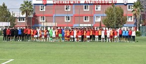 Galatasaray U19 takımı, Altınordu ile karşı karşıya geldi