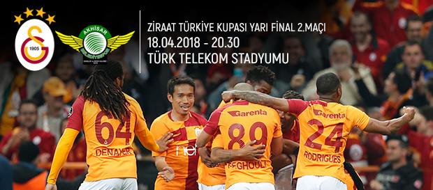Maça doğru | Galatasaray - TM Akhisarspor