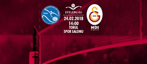 Maça doğru | Gümüşhane Torul Gençlik - Galatasaray HDI Sigorta