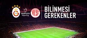 OPTA Facts | Galatasaray – Antalyaspor
