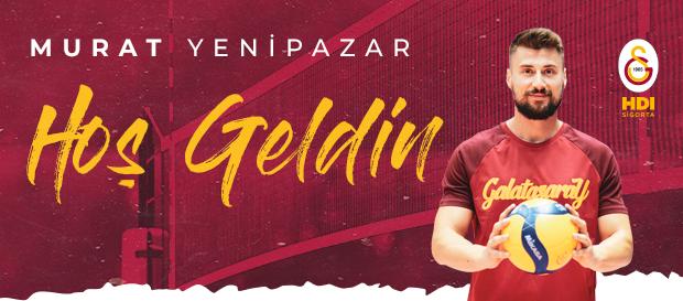 Murat Yenipazar Galatasaray HDI Sigorta'da!