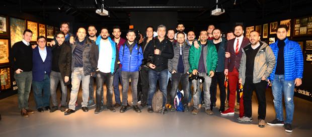 Galatasaray Stadyum Müzesi basına tanıtıldı