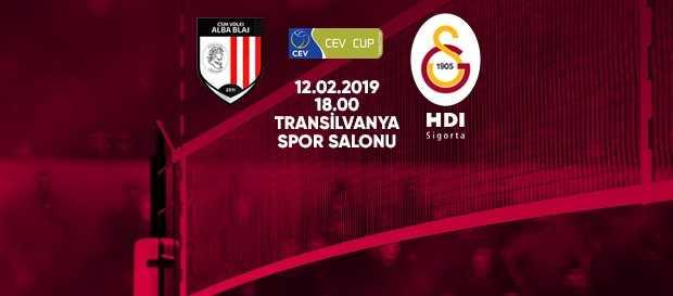 Maça doğru | CSM Volei Alba Blaj - Galatasaray HDI Sigorta