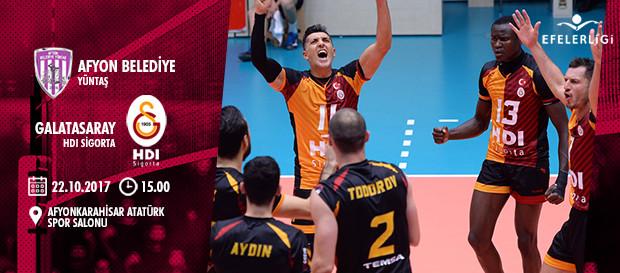Maça doğru | Afyon Belediye Yüntaş - Galatasaray HDI Sigorta