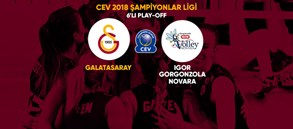 6'lı Play Off'ta rakibimiz Igor Gorgonzola Novara