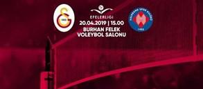 Maça doğru | Galatasaray - Halkbank