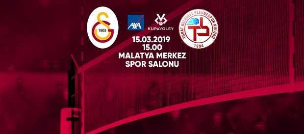 Maça doğru | Galatasaray - Tokat Belediye Plevne