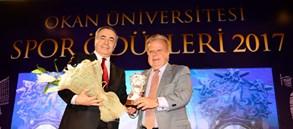 Okan Üniversitesi'nden Galatasaray'a 3 ödül