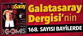 Galatasaray Dergisi'nin 168. sayısı bayilerde