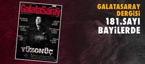 Galatasaray Dergisi'nin 181. sayısı bayilerde