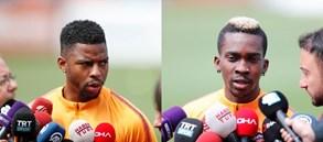 Ryan Donk ve Henry Onyekuru'dan Beşiktaş maçı öncesi açıklamalar