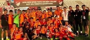Elit U14 Ligi Türkiye Şampiyonası'nda Şampiyon Galatasaray