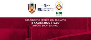 Maça Doğru | İnegöl Belediye - Galatasaray HDI Sigorta
