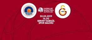 Maça doğru | Mersin Büyükşehir Belediye - Galatasaray