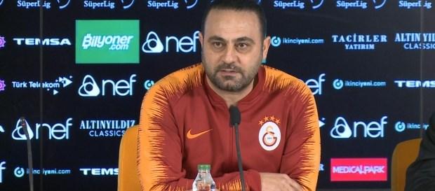 Yardımcı antrenörümüz Hasan Şaş'tan açıklamalar